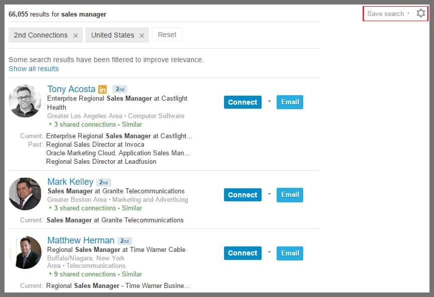 Linkedin-saved-search