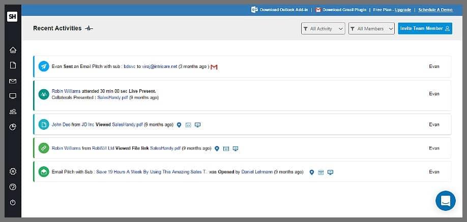 saleshandy email sales tool