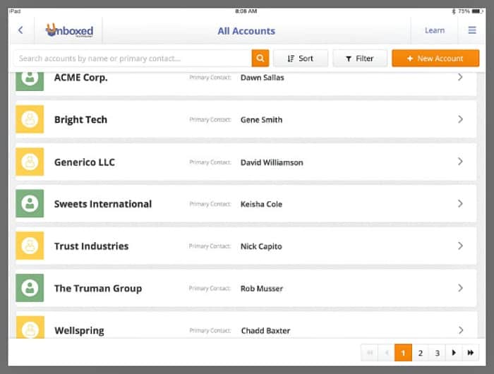 unboxed advisor sales enablement tool