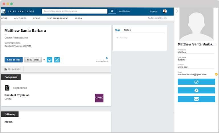 LeadGibbon LinkedIn profile
